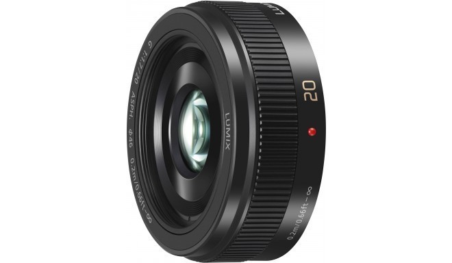 Panasonic Lumix G 20мм f/1.7 II ASPH объектив, черный