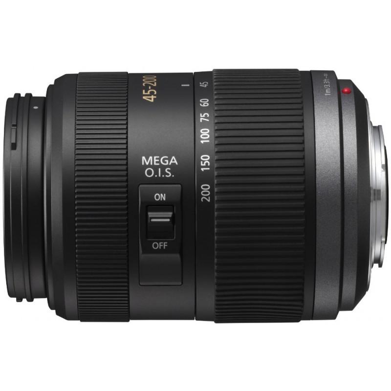 Panasonic Lumix G Vario 45-200mm f/4-5.6 ASPH Mega O.I.S objektiiv