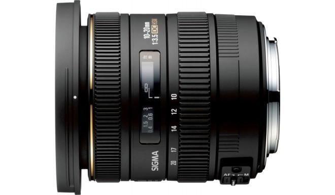 Sigma 10-20mm f/3.5 EX DC HSM objektiiv Pentaxile