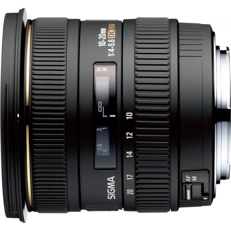 Sigma 10-20mm f/4-5.6 EX DC HSM objektiiv Canonile