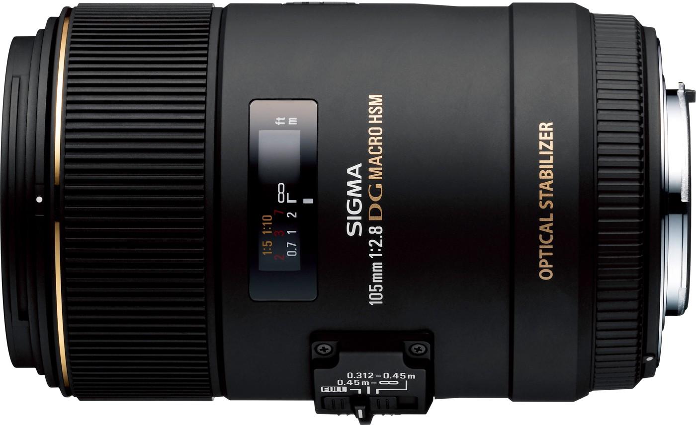 Sigma 105mm f/2.8 EX DG OS HSM Macro objektiiv Ni..