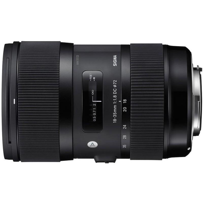 Sigma 18-35mm f/1.8 DC HSM Art objektiiv Canonile