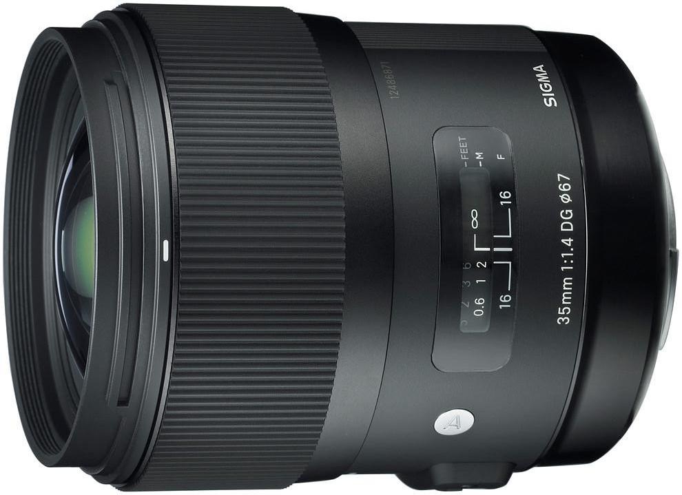 Sigma 35mm f/1.4 DG HSM Art objektiiv Ca..