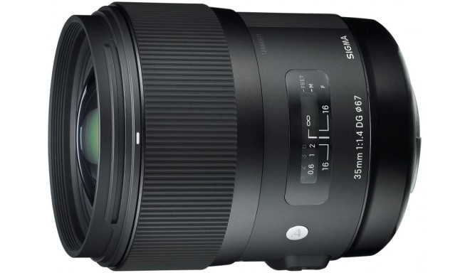 Sigma 35mm f/1.4 DG HSM Art objektiiv Nikonile