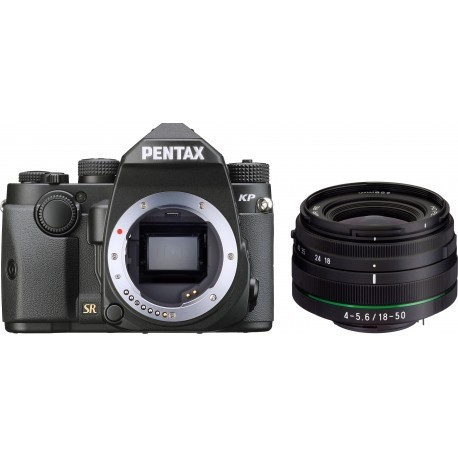Pentax KP + DA 18-50mm RE Kit, black