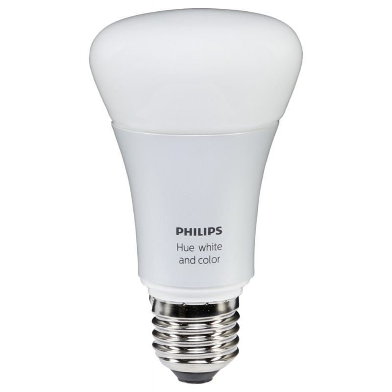 philips hue led lampe e27 10w 3 pack startset incl bridge. Black Bedroom Furniture Sets. Home Design Ideas