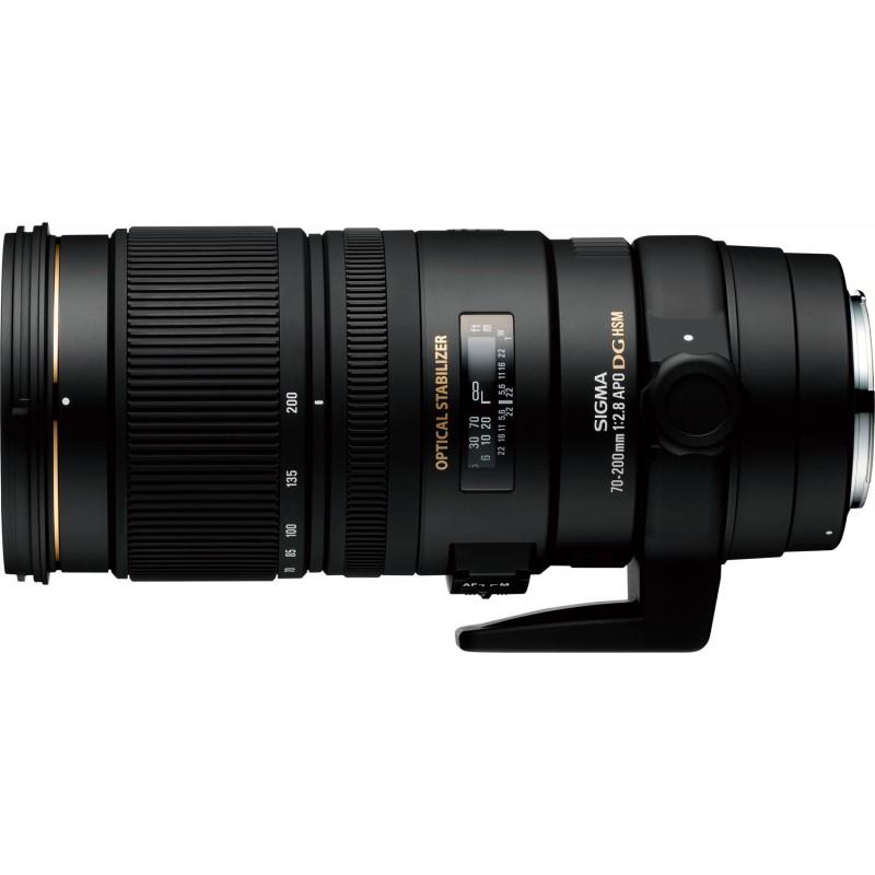 Sigma AF 70-200mm f/2.8 EX DG OS HSM objektiiv Canonile
