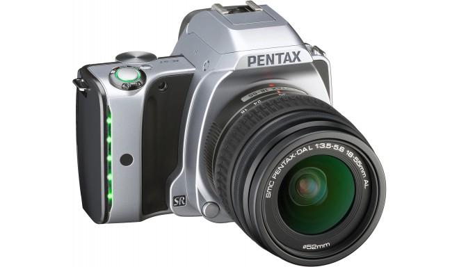 Pentax K-S1 + 18-55mm Kit, Moon Silver