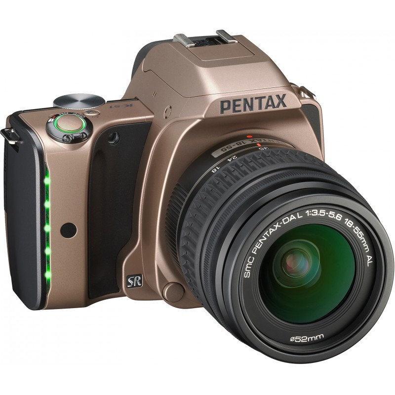 Pentax K-S1 + 18-55mm Kit, Dusk Gold