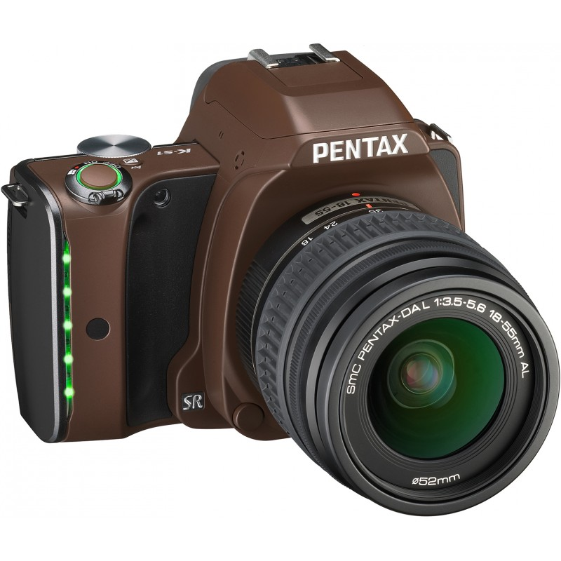 Pentax K-S1 + 18-55mm Kit, Linen Brown