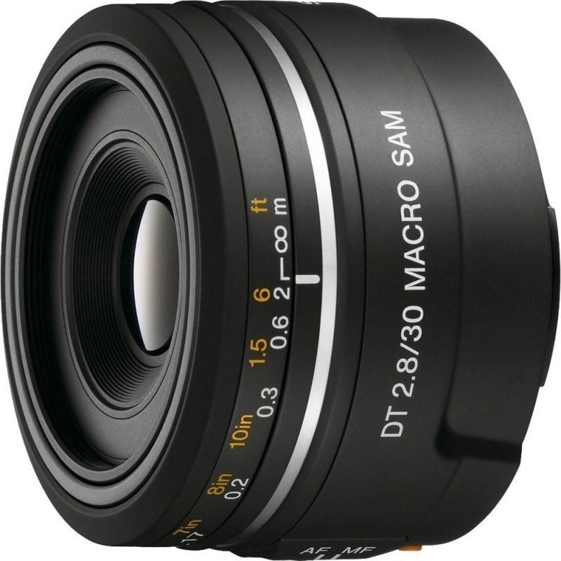 Sony DT 30mm f/2.8 Macro SAM objektiiv