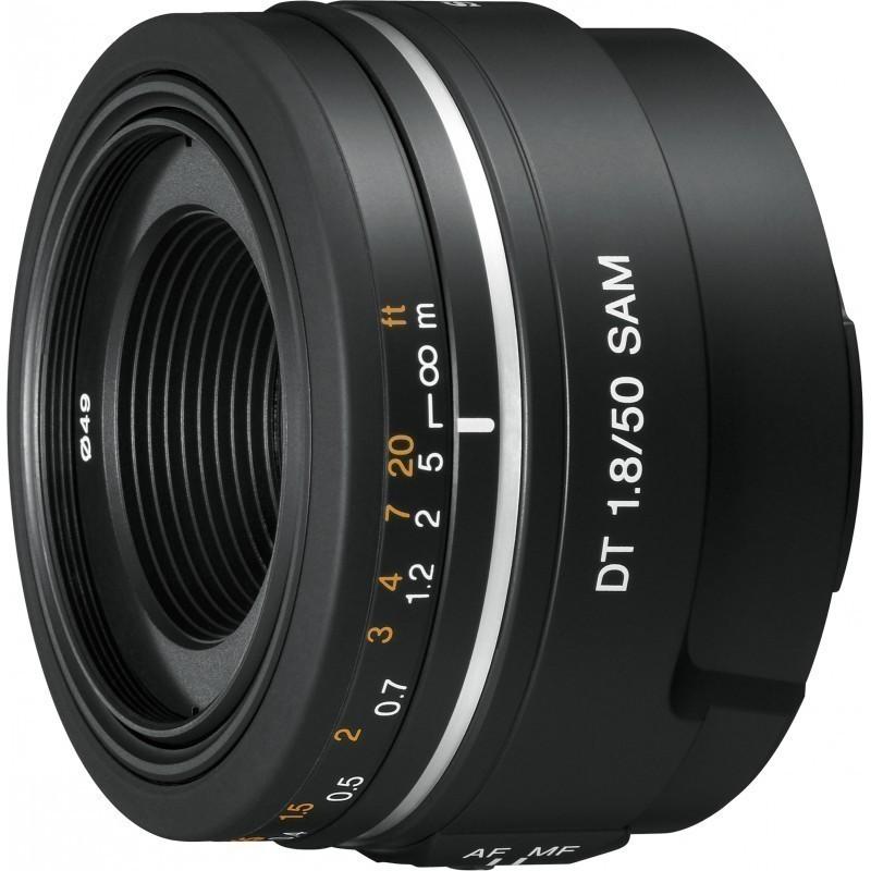 Sony DT 50mm f/1.8 SAM objektiiv
