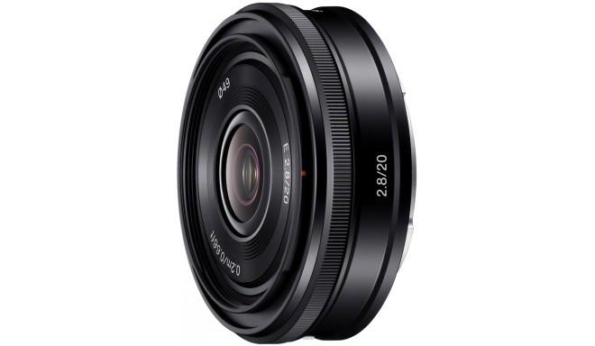 Sony E 20мм f/2.8 объектив