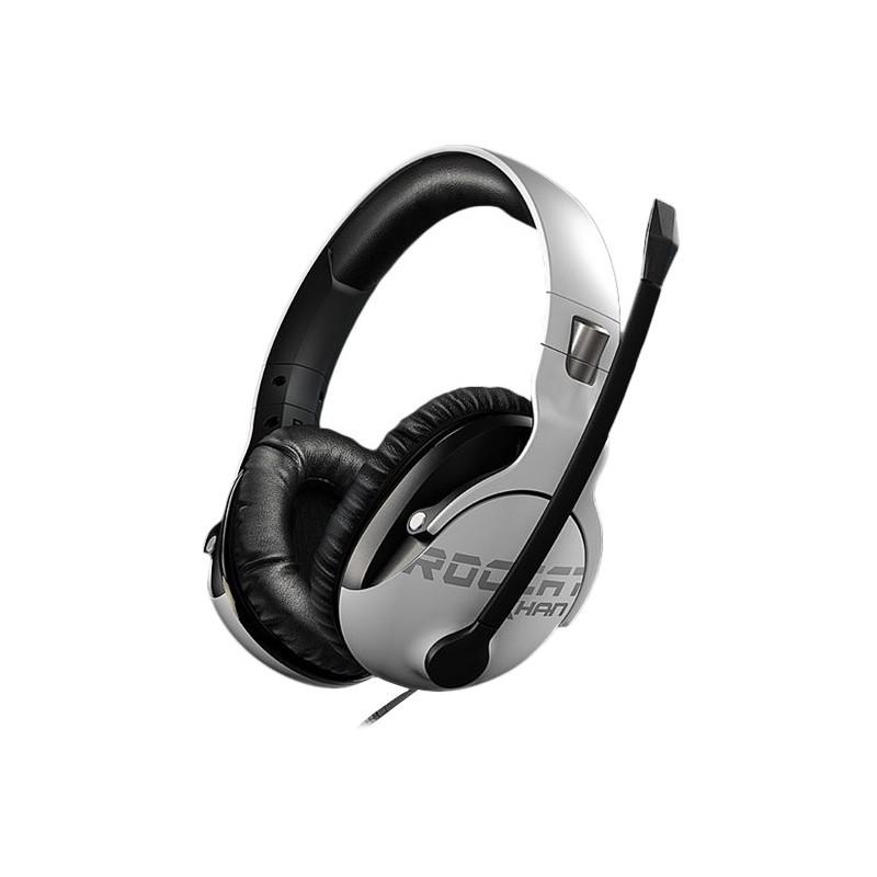 Roccat kõrvaklapid + mikrofon Khan Pro, valge (ROC-14-621)