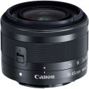 Canon EOS M100 + EF-M 15-45mm IS STM, must