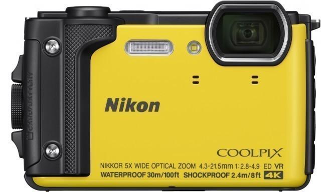 Nikon Coolpix W300, желтый