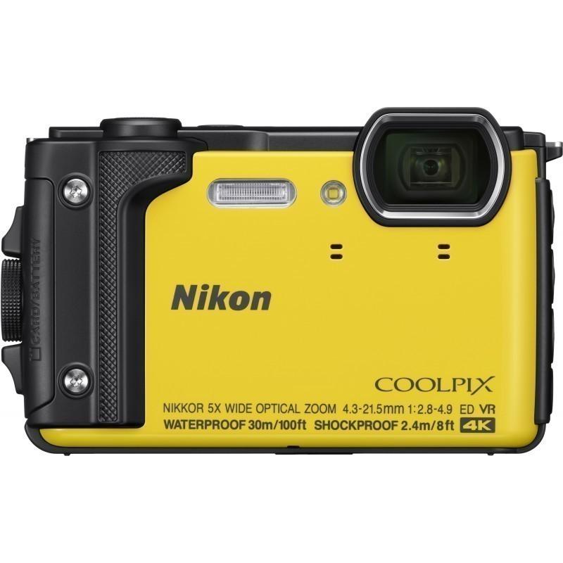 Nikon Coolpix W300, yellow