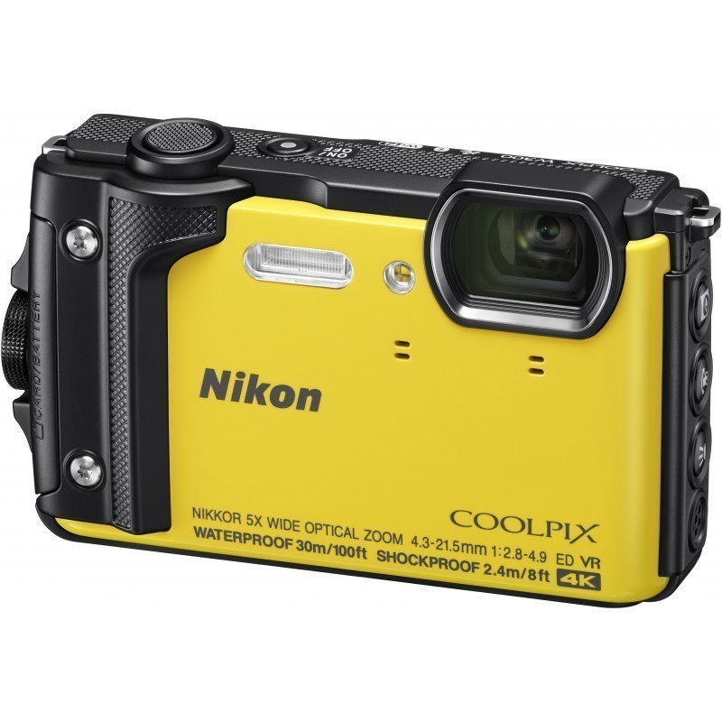 Nikon Coolpix W300, kollane