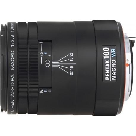 smc Pentax D FA 100mm f/2.8 Macro WR objektīvs