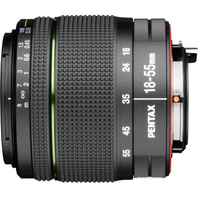 smc Pentax DA 18-55mm f/3.5-5.6 AL WR objektiiv