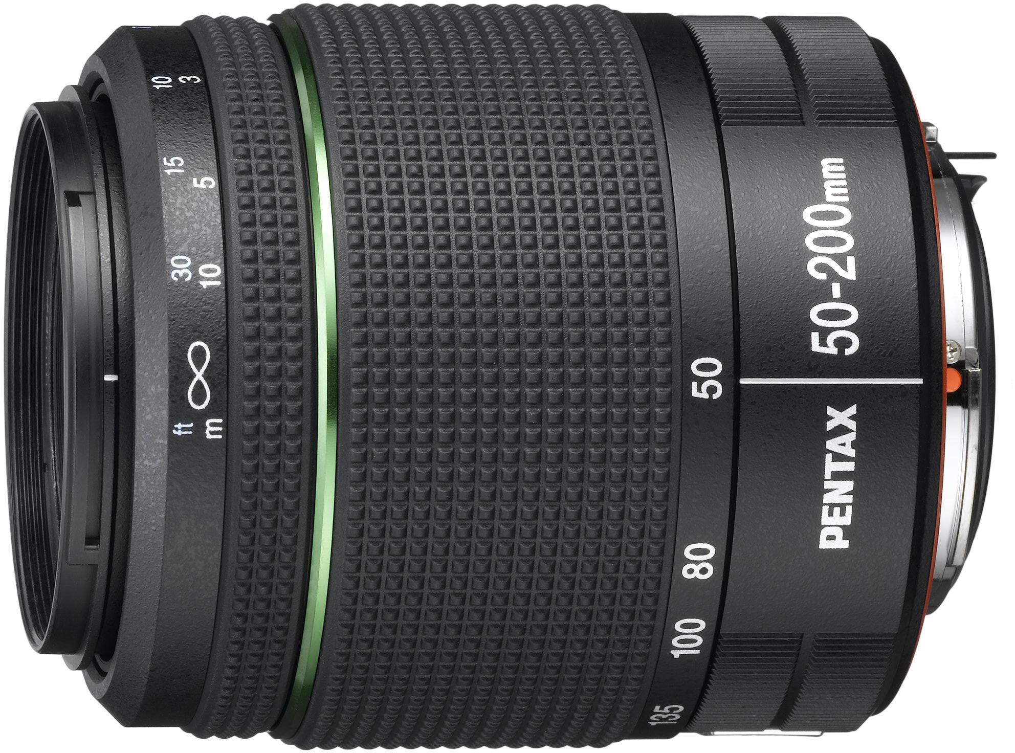 smc Pentax DA 50-200mm f/4-5.6 AL WR obj..