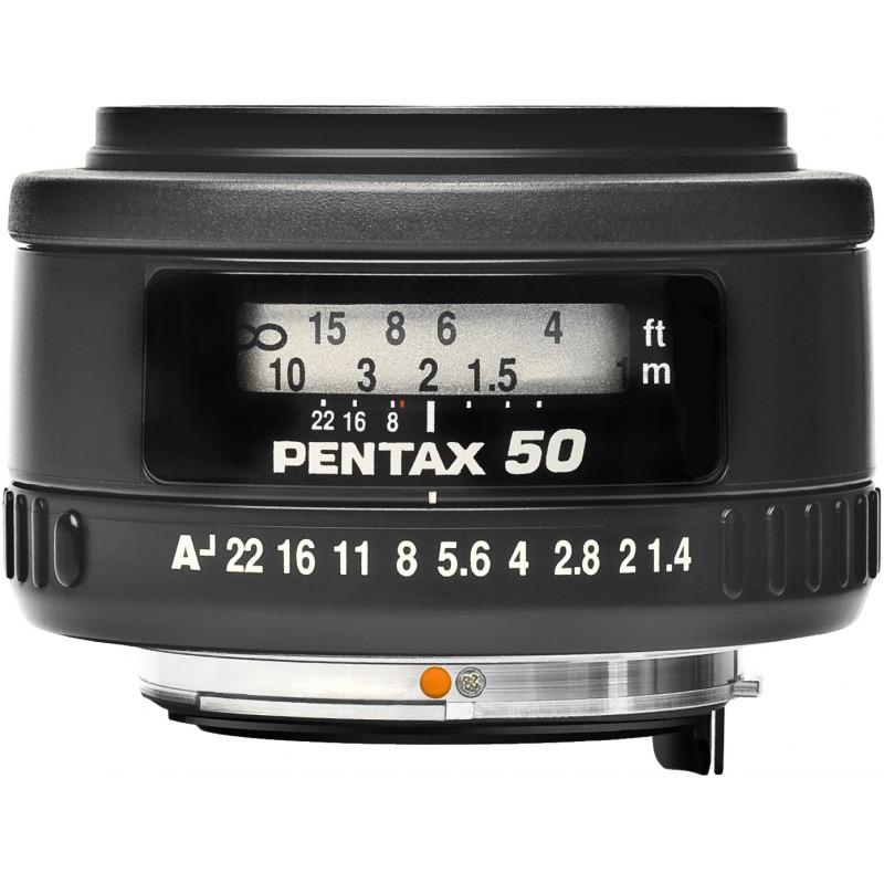 smc PENTAX FA 50mm f/1.4 objektiiv