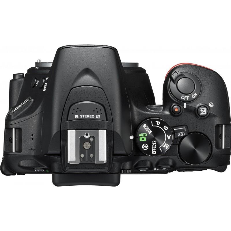 Nikon D5600 + Tamron 18-400mm, black