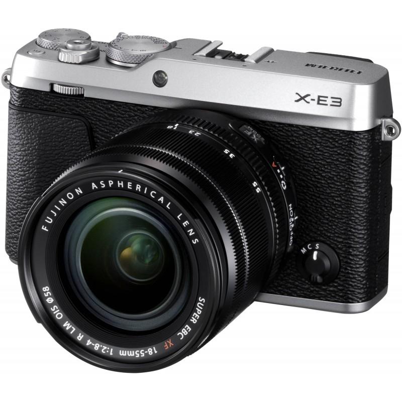 Fujifilm X-E3 + 18-55mm Kit, silver
