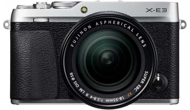 Fujifilm X-E3 + 18-55mm Kit, sudrabots