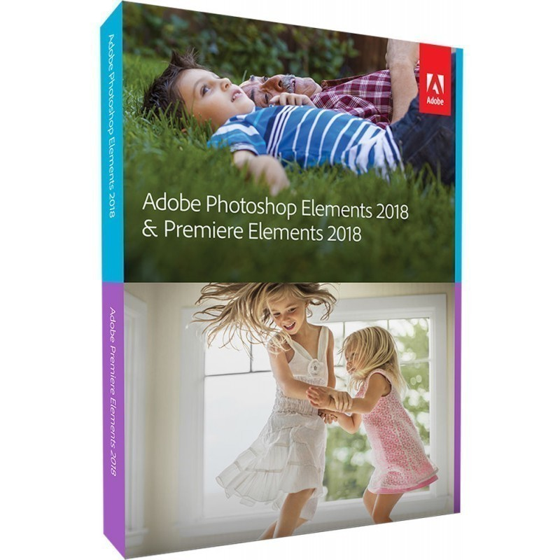 Adobe Photoshop & Premier Elements 2018