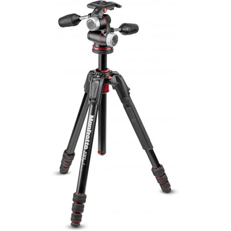 Manfrotto tripod kit MK190GOA4-3WX
