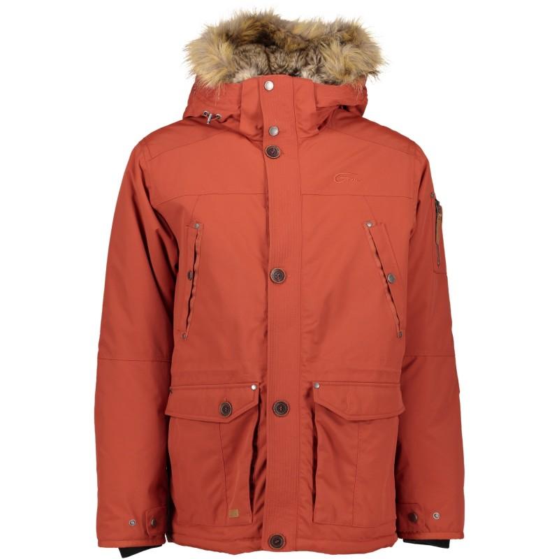 Parka Five Seasons RUNE JKT M pruun - Jackets - Photopoint c4c4565b88