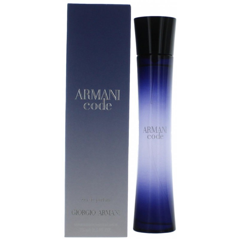 giorgio armani code pour femme eau de parfum 75ml. Black Bedroom Furniture Sets. Home Design Ideas