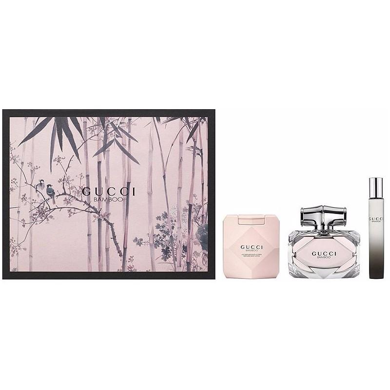 Gucci Bamboo Pour Femme Eau De Parfum 75ml Edp 7мл лосьон для