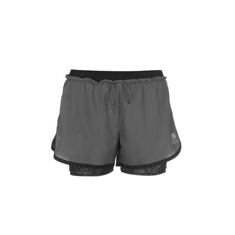 0e0910010 Karrimor X 2 in 1 Running Shorts Ladies - Pants - Photopoint