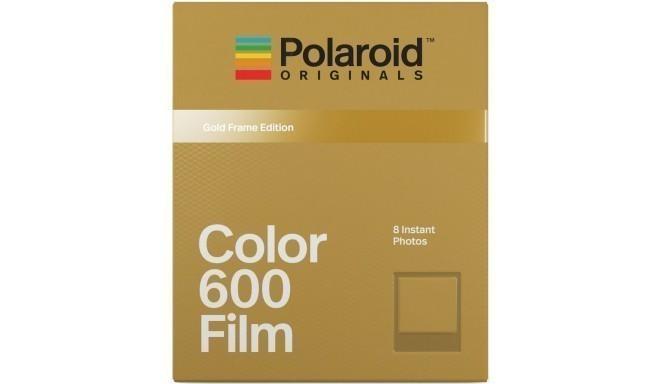 Polaroid 600 Color Gold Frame
