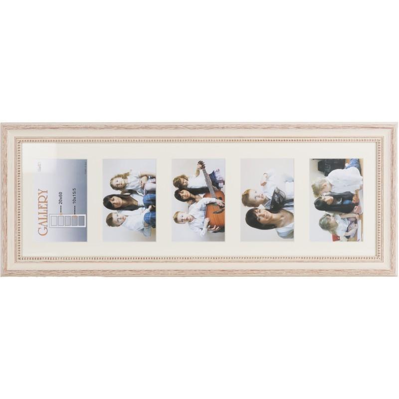 Photo frame Verona Gallery 20x60/5/10x15 (VF2506), beige - Photo ...