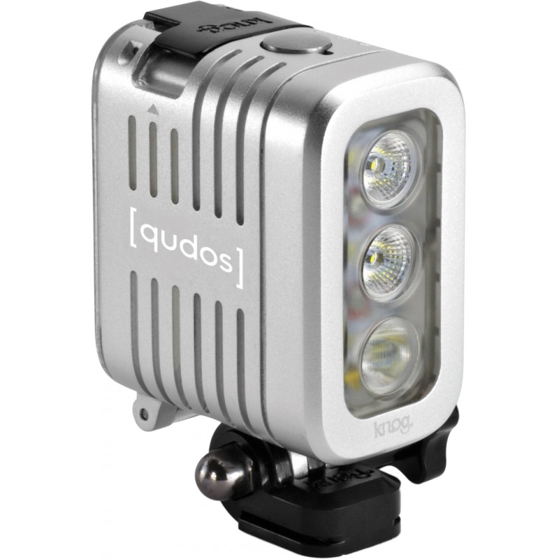 Knog [Qudos] Action видео осветитель, серебристый