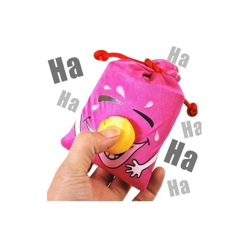Laughter Bag Keyring (Orange)