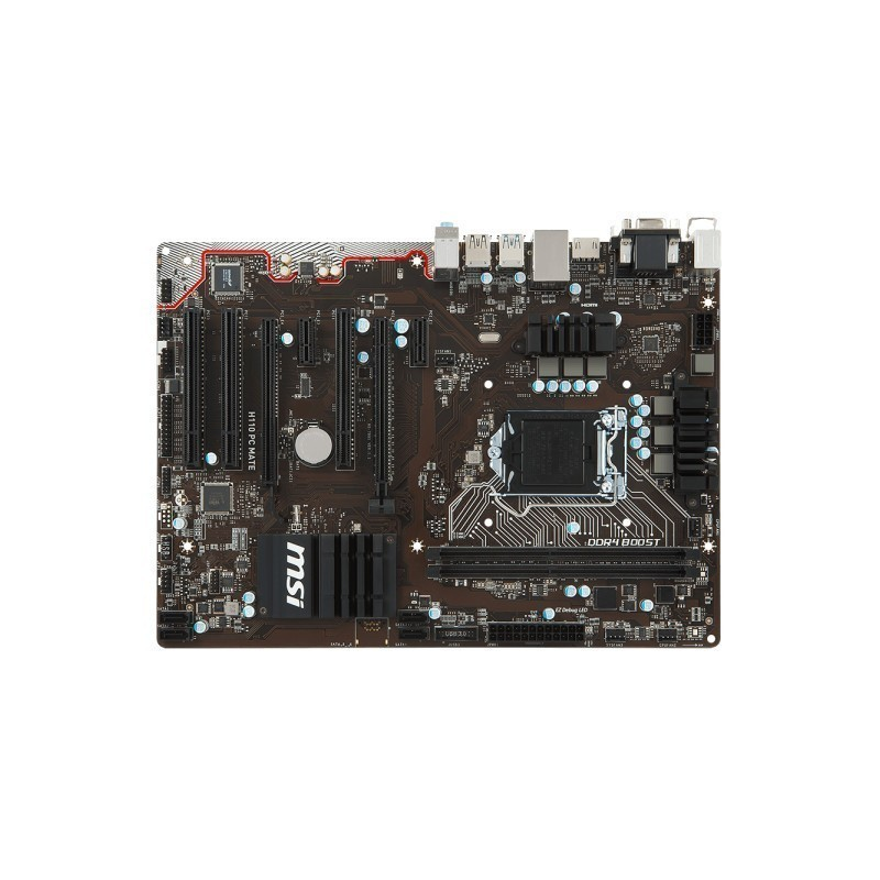 MSI H110 PC MATE Mac