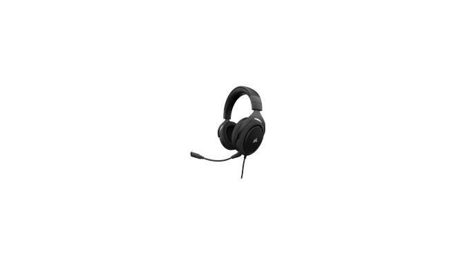Corsair kõrvaklapid + mikrofon HS50, carbon