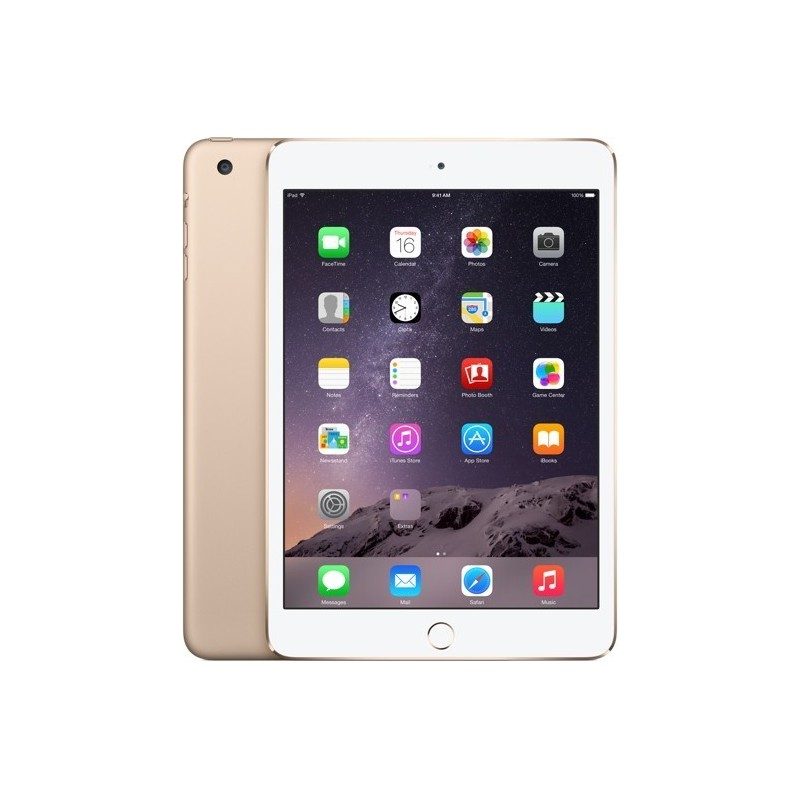 Apple iPad Mini 3 128GB WiFi, kuldne