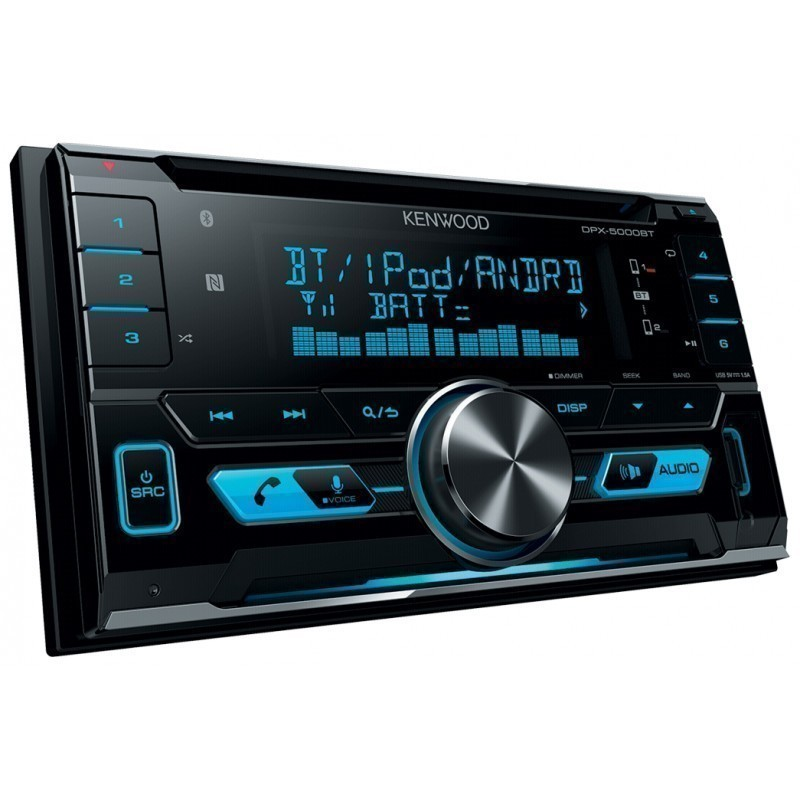 Kenwood car radio DPX-5000BT - Car radios - Photopoint