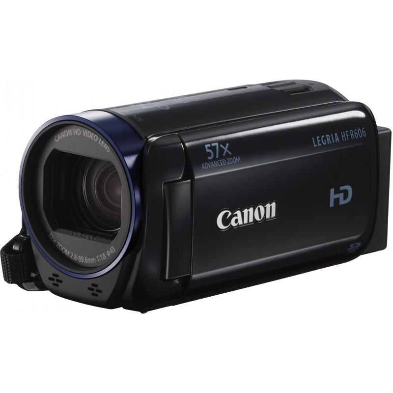 Canon Legria HF R606, must