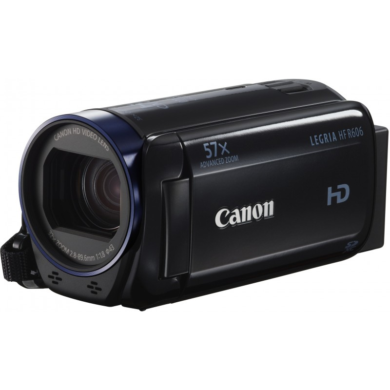 Canon Legria HF R606, чёрный