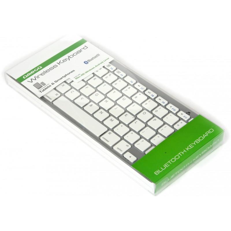 Omega keyboard for tablets OKB003, white