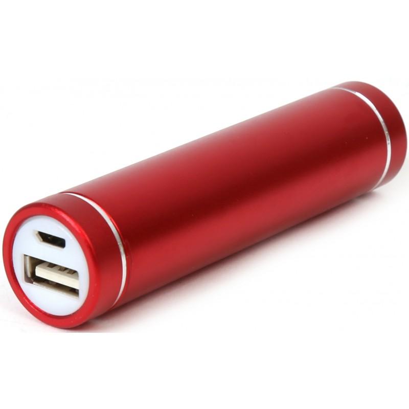 Platinet Power Bank 2200mAh PMPB22R, red
