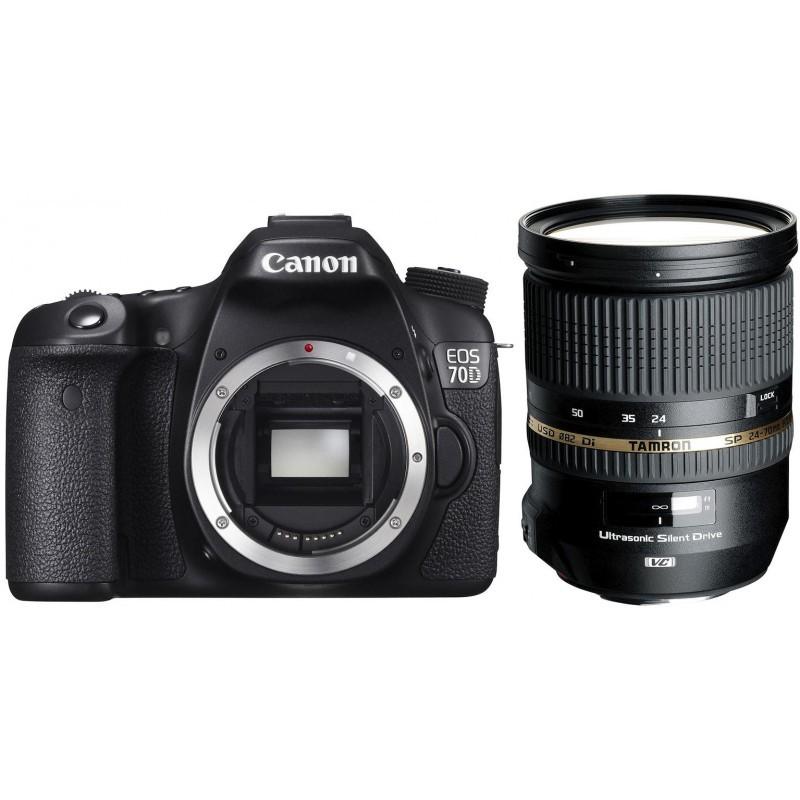 Canon EOS 70D + Tamron 24-70мм f/2.8 VC USD