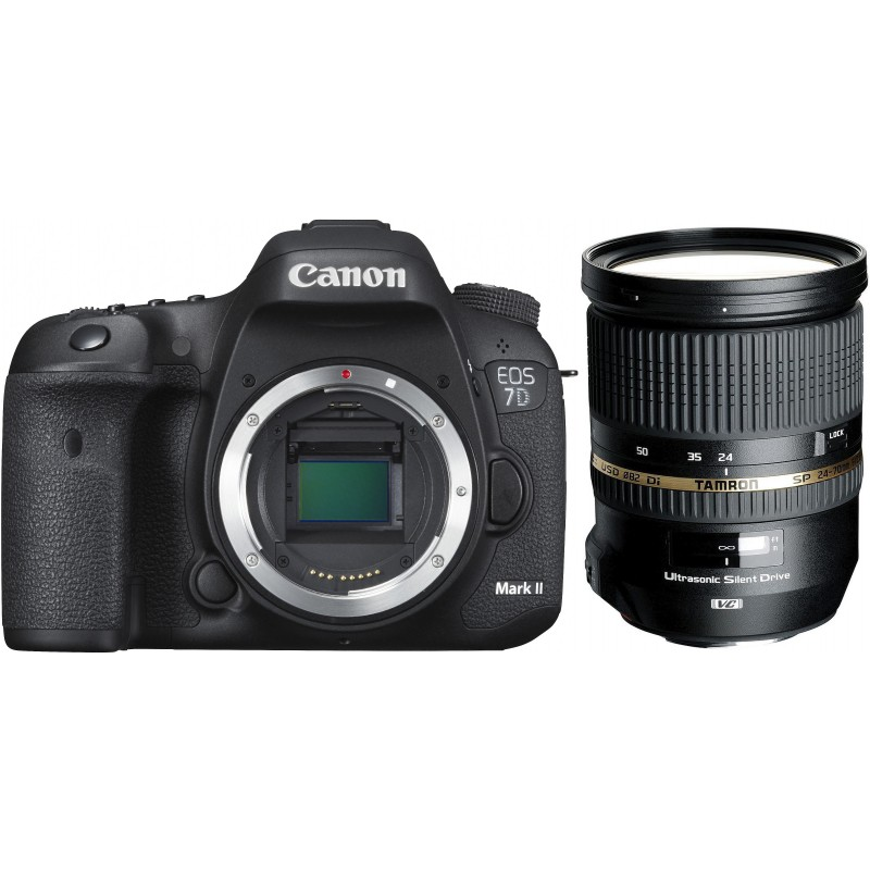 Canon EOS 7D Mark II + Tamron 24-70mm f/2.8 VC USD