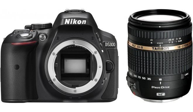 Nikon D5300 + Tamron 18-270mm VC PZD